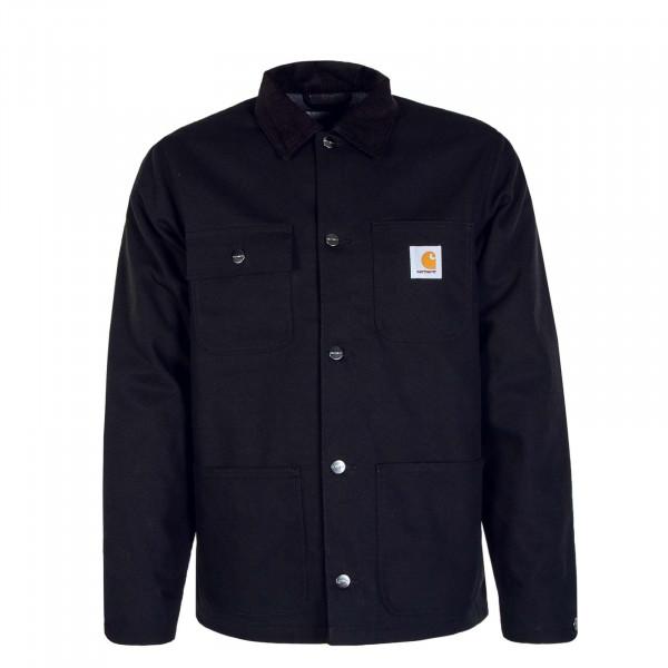Herren Jacke Michigan Coat Black Rigid