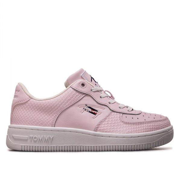 Damen Sneaker - Textured Basket Cupsole - Light Pink