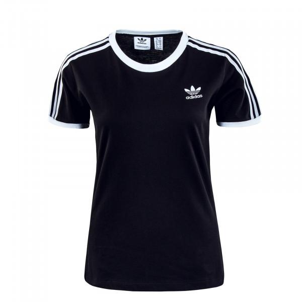 Damen T-Shirt - 3 Stripes - Black