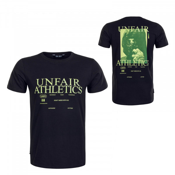 Herren T-Shirt Standby Black Green