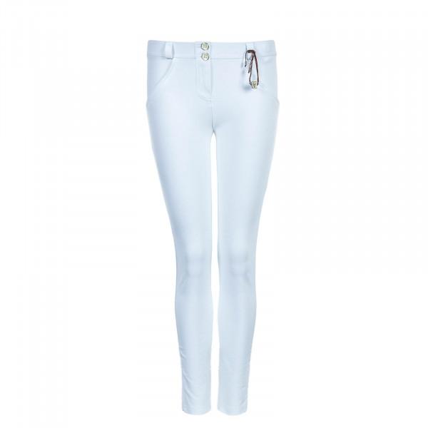 Damen Hose WRUP1RS019 Pantalone Lungo White