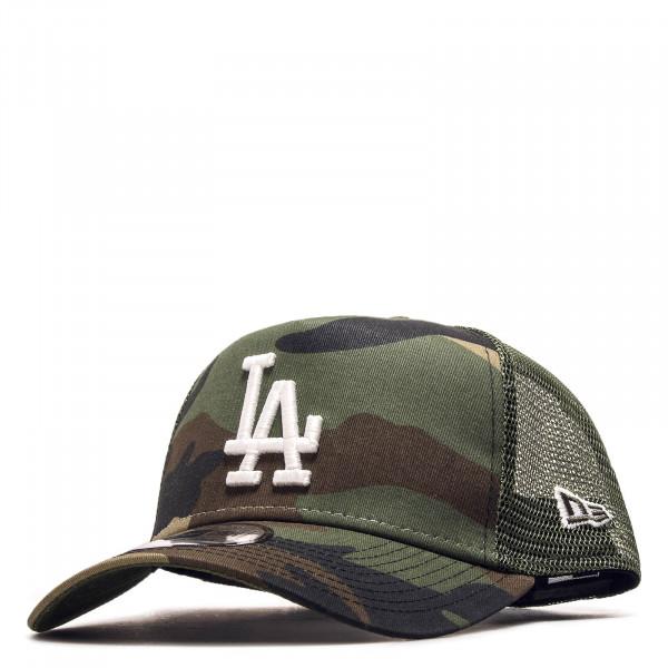 Cap Trucker LA Camouflage Green