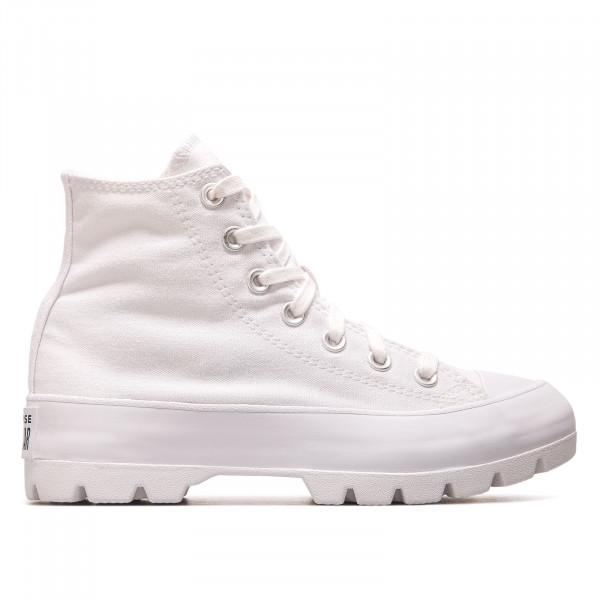 Damen Sneaker - CTAS Lugged Hi - White /  Black