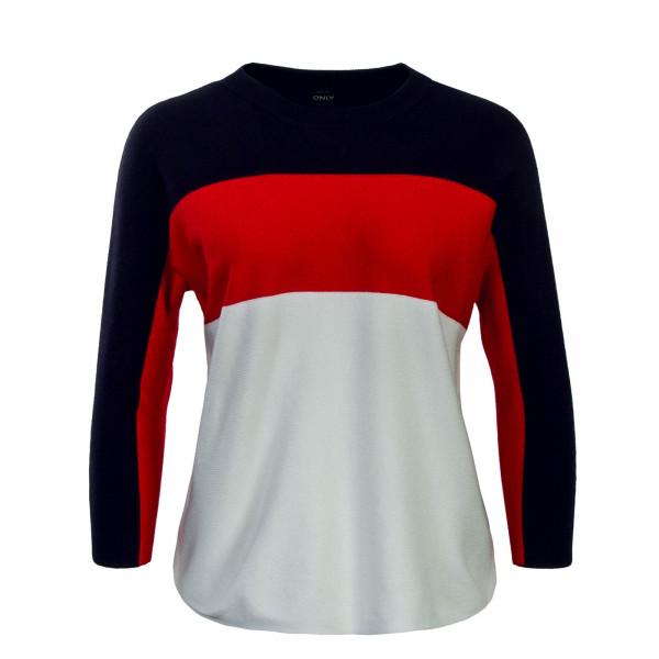 Only Knit Regitze 3/4 Navy Red