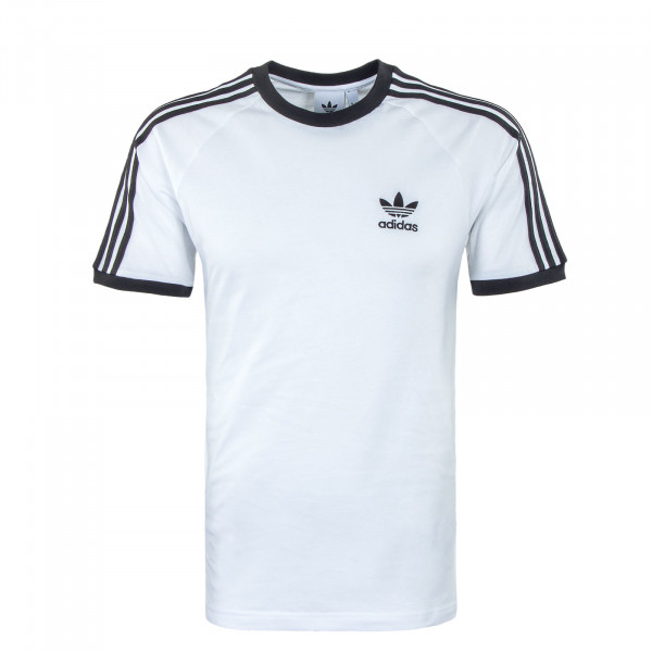 Herren T-Shirt - 3 Stripes - White / Black