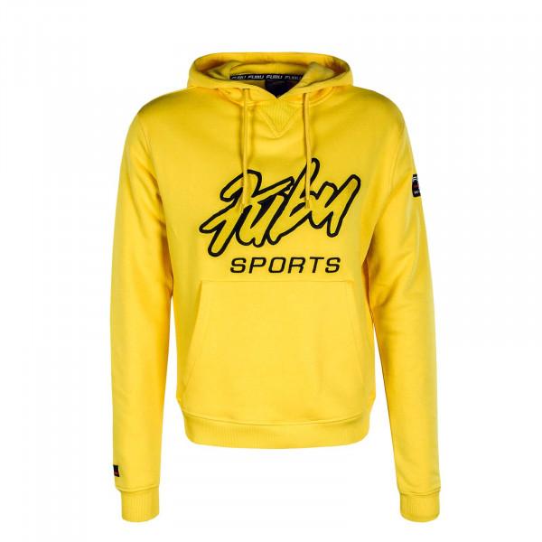Herren Hoody Sports 32026 Yellow