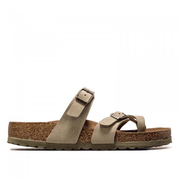 Damen Sandale - Mayari BF Earthy VEG Faded - Khaki / normale Weite