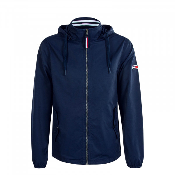 Herrenjacke Hooded Essential 7579 Navy