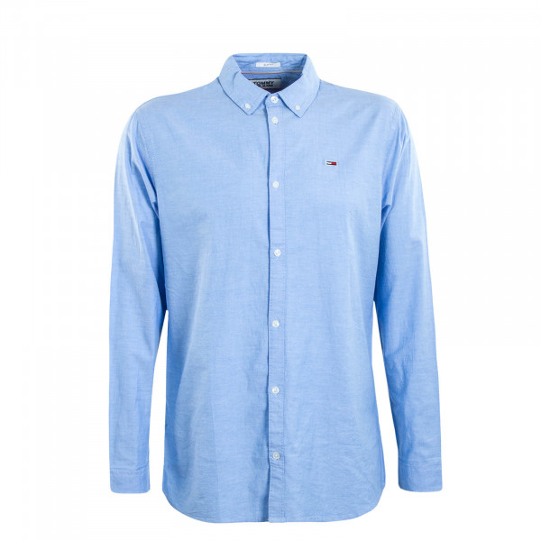 Herren Hemd TJM Oxford Light Blue