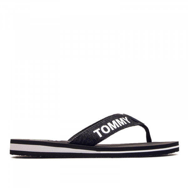 Tommy Wmn Slide Beach Denim Black