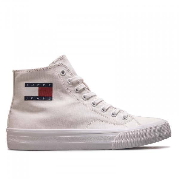 Herren Sneaker Midcut Lace Up Vulc 0485 White