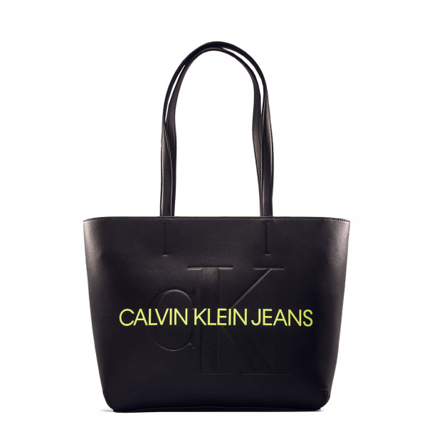 Damen Handtasche - Sculpted Shopper - Mono Black
