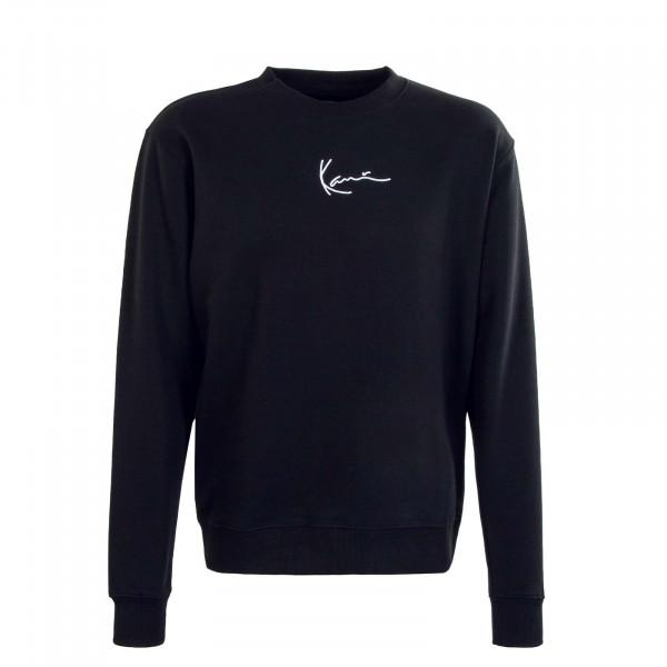 Herren Sweatshirt - Small Signature Crew - Black