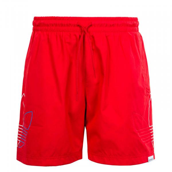 Herren Boardshort - Fto Swims GN3549 - Scarlet