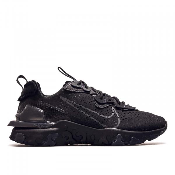 Herren Sneaker React Vision Black Anthrazit
