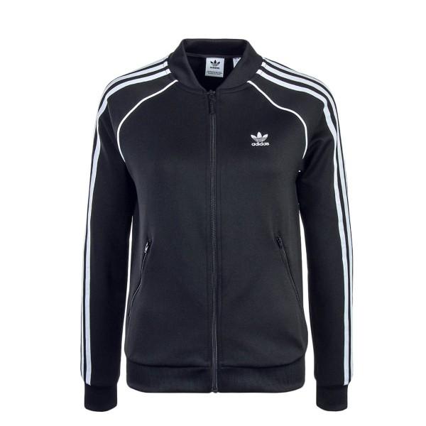 Damen Trainingsjacke SSTTT Black White