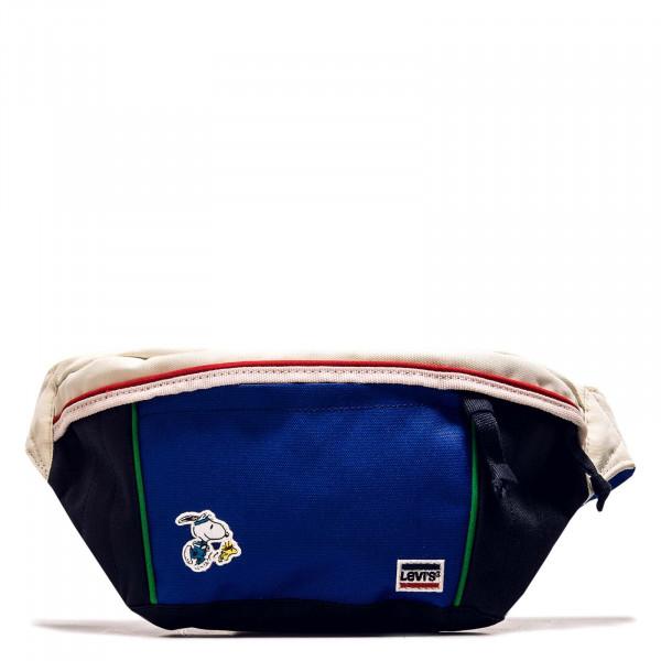 Sport Bag Snoopy Medium Banana Navy Blue