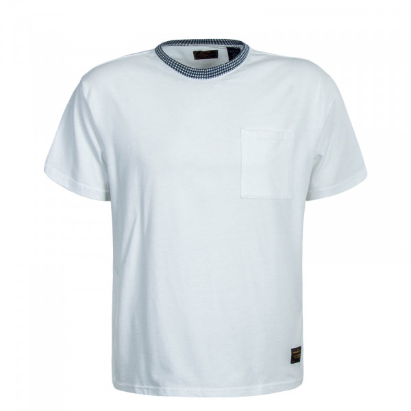 Herren T-Shirt Skate Boxy White