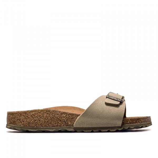Damen Sandale - Madrid BF Earthy VEG Faded - Khaki - schmale Weite