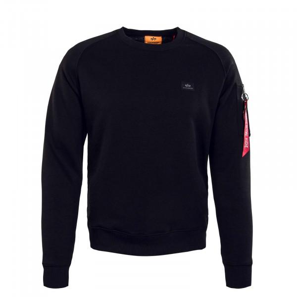 Herren Sweatshirt - X Fit - Black