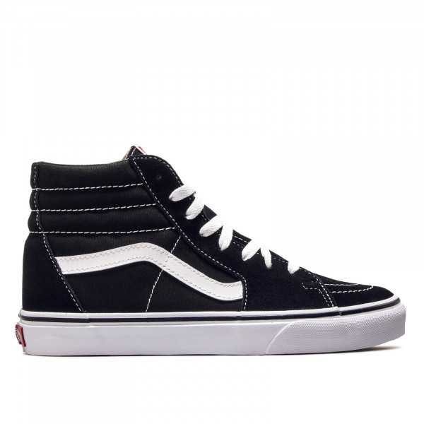 Vans SK8 Hi Black Black White