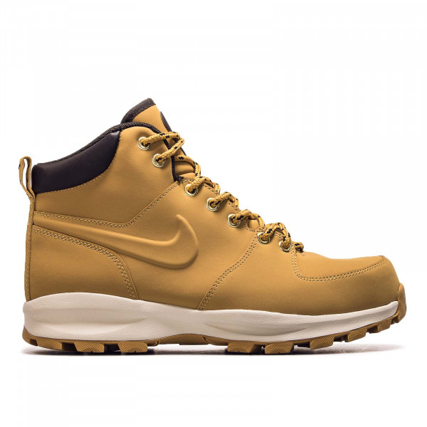 Herren Schuh Leather Manoa Velvet Brown