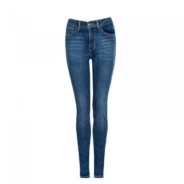 Damen Jeans High Rise Skinny 721 075 Blue