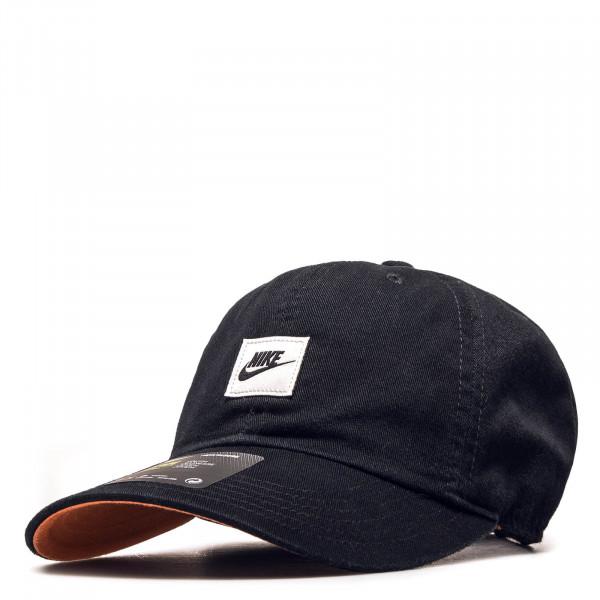 Cap Heritage 86 Black White Orange