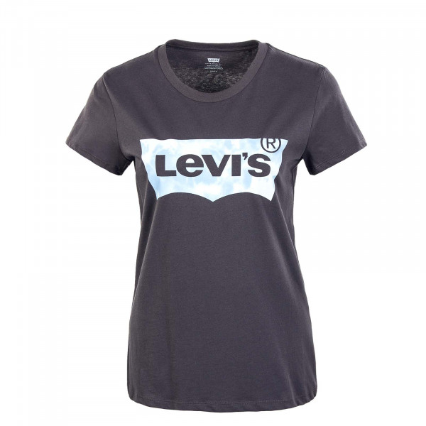 Damen T-Shirt - Perfect Tee Blown Up Tie Dye - Anthrazit