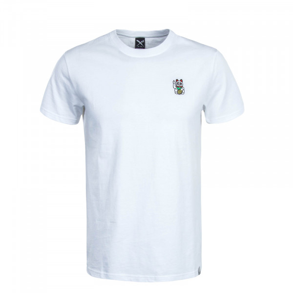 Herren T-Shirt Bye Bye White
