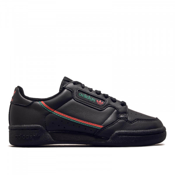 Unisex Sneaker Continental 80 Black Red Green