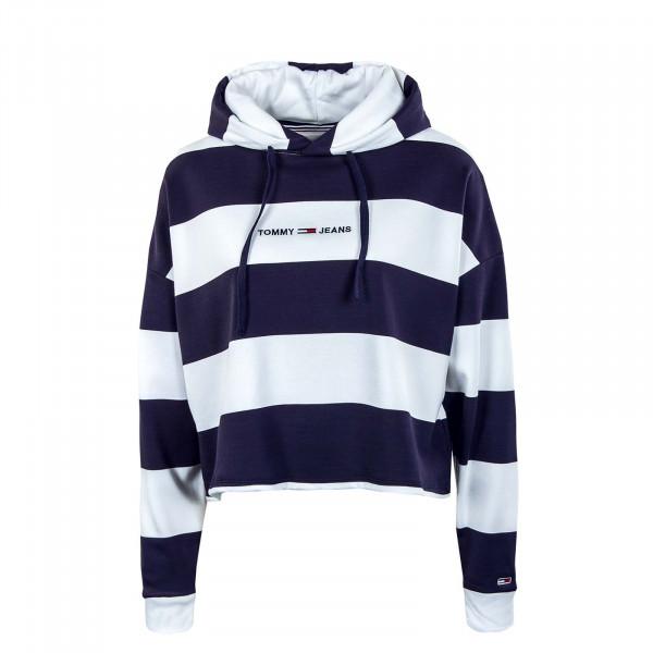 Damen Hoody - Linear Stripe - Twilight / Navy / Multi