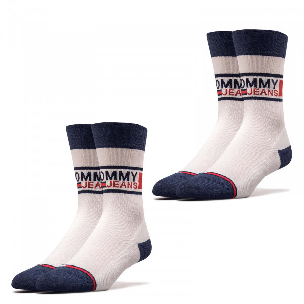 Socken TH Jeans 398 Sock 2er Pack White
