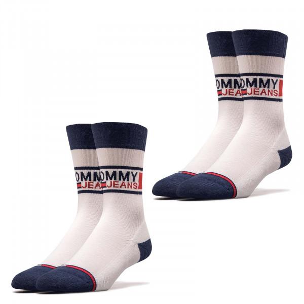 Socken TH Jeans 398 Sock 2er Pack White