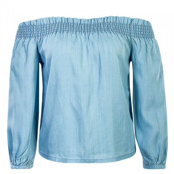 Damen Longsleeve 3/4 Samantha Light Blue