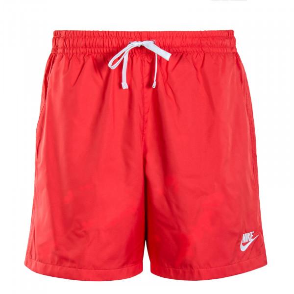 Herren Boardshort Flow Red White
