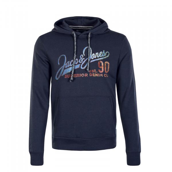 Herren Hoody 30 Jack Print Navy Blazer