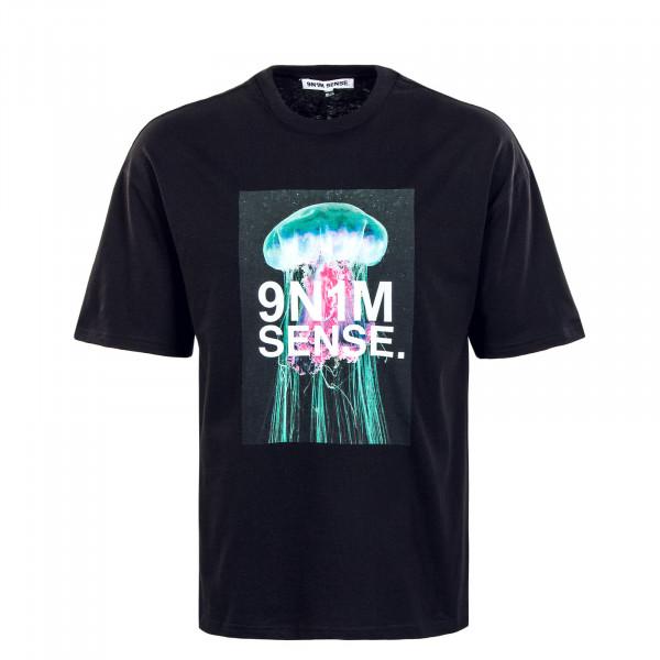 Herren T-Shirt - Jellywfish - Black