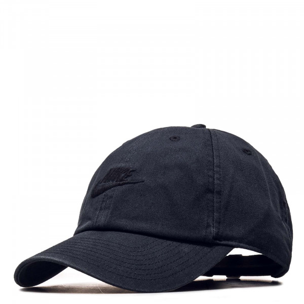 Cap NSW H86 Futura Washed Black Black