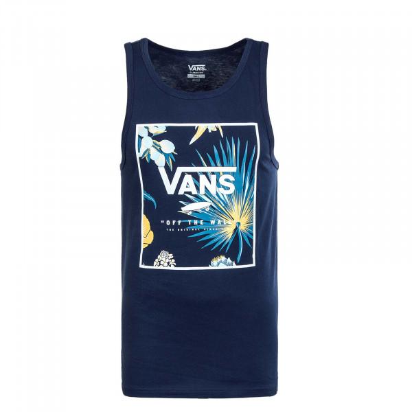 Herren Tank Top - Print Box Tank Dress - Blue / Califas