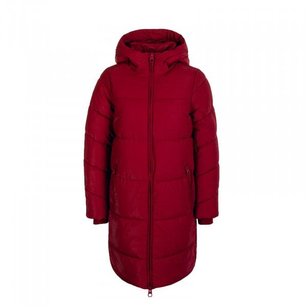Damen Mantel Sienna Long Puffer Coat Rhubarb