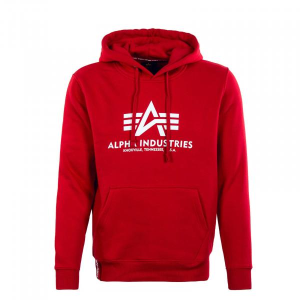 Herren Hoody - Basic - Speed Red