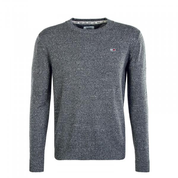 Herren Pullover Essential Textur Grey