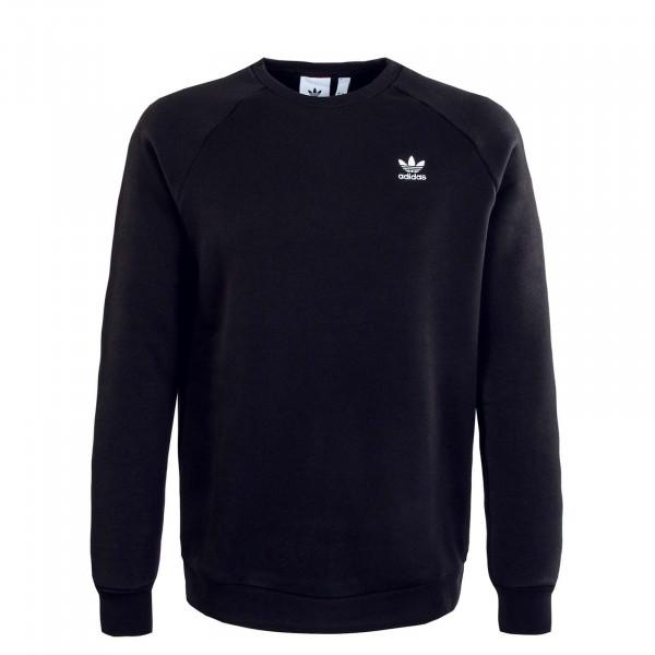 Herren Sweatshirt - Essential Crew 34645 - Black