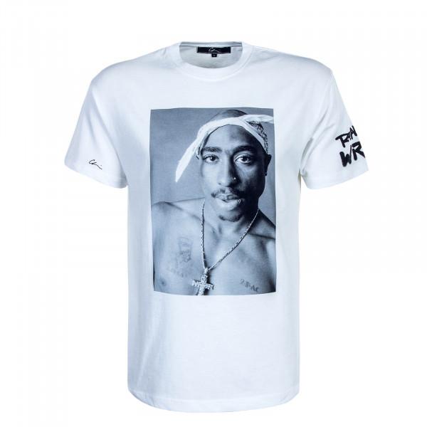 Herren T-Shirt Reality 2 White