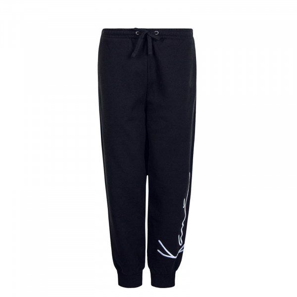 Herren Jogginghose Signature Retro Black White