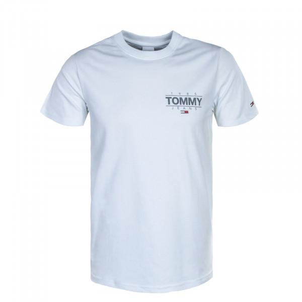 Herren T-Shirt - Slim Stretch 11609 - White