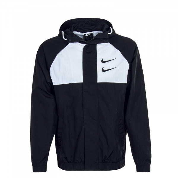 Herrenjacke Swoosh 4888 Black Black White