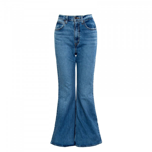 Damen Jeans - 70's High Flare Sonoma Walks - blue
