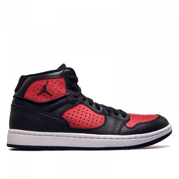 Herren Sneaker Access Black Red White